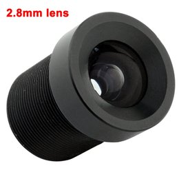 Wholesale Ip Camera Ir Lens Filter - 2.8mm M12 Mount Wide Angle 115 Degree 650nm IR Filter CCTV Camera Lens Fixed focus Board Lens For Security USB   IP Camera