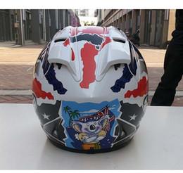 Wholesale Abs Color - 2017 new Arai helmet RX 7 RR5 Doohan Motorcycle helmet Racing helmet Full face