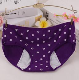 Wholesale Menstrual Panties - Hot sale Physiological briefs leakproof menstrual period lengthen the broadened female underwear health seamless women panties