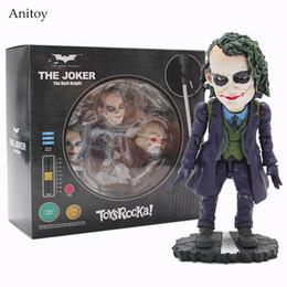 Wholesale Batman Dark Knight Figure - TOYS ROCKA! Batman The Dark Knight Joker PVC Figure Collectible Toy 14cm KT4113