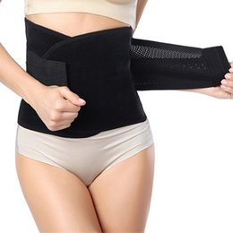 2019 взвешенный пояс Wholesale-Women Weight Loss Corsets Cincher Belt Corset Slimming Waist Training Underwear Postpartum Tummy Trimmer Body Fat Burne дешево взвешенный пояс