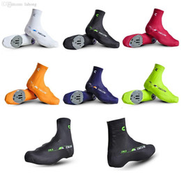 Wholesale Waterproof Shoe Covers Red - Wholesale-2015 new warm in winter Thicken thermal bike bicycle shoes covers Windproof waterproof cycling shoes covers overshoes