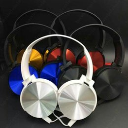 Wholesale Gamer Headphones Wholesalers - MDR - XB450 Headphones For Gaming Gamer Bicycle Sport Music MP3 CellPhone Computer Sport for iphone 6s samsung s7 s8 sony hbs 900