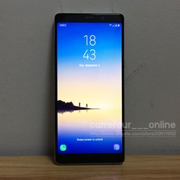 Wholesale New Android Note Phone - New Arrival Goophone note8 Phones note 8 phone MTK6580 64bit Quad Core Dual SIM 1440x720pixel 1GB RAM 16GB ROM Android 6.0 GPS Smartphone