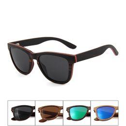 91ec7e49f857d China fabricante novo produto personalizado uv400 lente polarizada preto de  alta qualidade óculos de sol de madeira 2018