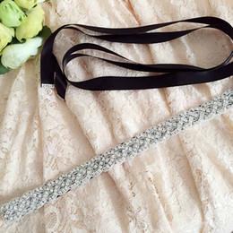 Wholesale Sparkle Belt Wedding Dress - FREE SHIPPING S216 FREE SHIPPING Wedding Dress Belt handmade Amazing Sparkling Rhinestone Bridal Belt Simple&Elegant Wedding Sashes