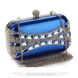 Wholesale Elegant Evening Handbag Rhinestone - Rhinestones Women Handbag Perspex Diamond Clutch Bags Elegant Party Evening Bags Purse Holder Wholesale