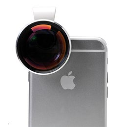 Wholesale Cell Phone Telescope Lens - Wholesale-Hot Sell Clip 7X Telephoto Telescope Phone Camera Lens For iPhone 6 6Pplus 5 4 iPad Samsung S5 Note 4 Cell Phone APL-7XST