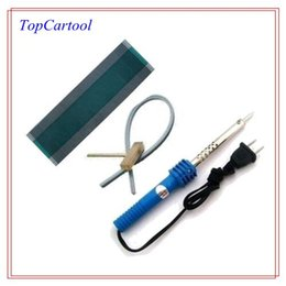 Wholesale C5 Kit - Topcartool OBDDIY Ribbon cable Soldering Iron solder T-Tip Rubber Cable Citroen C5 Xsara Peugeot 307 lcd display dead pixel fix kits