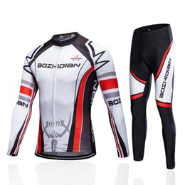2019 camiseta ciclista orbea rojo 2017 AZD65S Ciclismo Especialista MTB Pro Team Hombres Ropa de Manga Larga Divertido Ciclismo Jersey Maillot Ropa Ciclismo