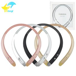Wholesale Iphone Mic - For Iphone 8 X HBS 913 HBS913 Bluetooth Wireless Headset Stereo earphone with mic for Cellphone pad computer bluetooth device