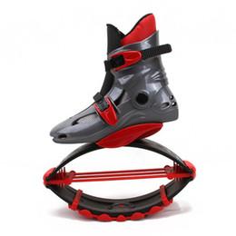 Zapatos de rodillo niños online-Kangoo Jumps Boots Zapatos Roller Skate Bounce Zapatos Niños Adolescentes Adultos Outdoor Sports Fitness Shoes