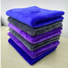Wholesale Chenille Towels Wholesale - 30 cm x 70 cm Microfiber Car Cleaning Towel Microfibre Detailing Polishing Scrubing Waxing Cloth Hand Towel 80g-Chenille