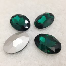 Wholesale Angels For Decorating - More Colors U Choose,13x18mm 128pcs lot color Pointback Glass Crystal Oval Stones Perfect For Jewelry Decorate DIY