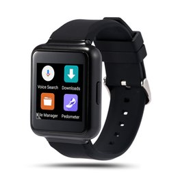 "Wholesale Display Phone 3g - Smart Watch K8 update version Q1 1.54"" Display Android 5.1 WiFi GPS 3G Bluetooth Smartwatch 512MB + 4GB Support NANO Sim Card Clock Phone"