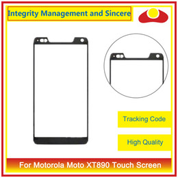 Wholesale Touch Razr Hd Xt925 - For Motorola Moto Droid Razr XT910 XT912 Razr HD XT925 XT926 Droid RAZR XT907 XT890 Front Outer Glass Lens Touch Screen Panel Digitizer