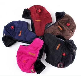 Invierno Corduroy Outdoor Cap ciclismo de deporte grueso de felpa de piel  falsa oído caliente sombrero de esquí 9dda3edbcf7
