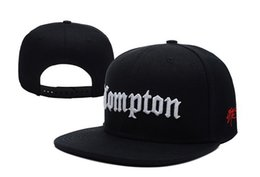 Wholesale New Arrival Snapbacks - New Arrival fashion COMPTON Snapbacks caps starter compton black most popular sports high quality hats fashion