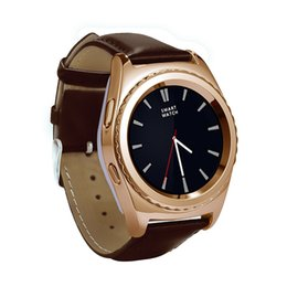 Wholesale Gear Watch Phone - 2016 Hot NO.1 G4 Bluetooth Smart Watch Phone Support SIM TF Card Smartwatch Heart Rate For samsung gear s2 android ios phone