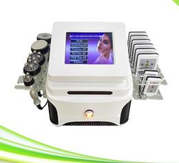 Wholesale Cavitation Ultrasound Machine Sale - 6 in 1 vacuum ultrasound cavitation liposuction lipolaser cavitation rf slimming i lipo machines for sale