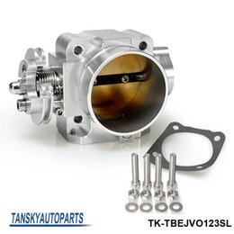 Wholesale Mitsubishi Lancer 4g63 - TANSKY - For Mitsubishi Lancer EVO 1 2 3 4G63 Intake Manifold Throttle Body 70mm 92-95 Sliver TK-TBEJVO123SL