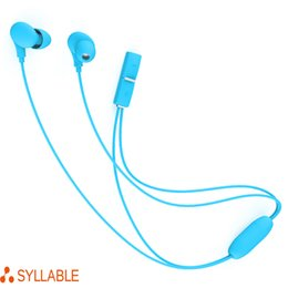 Wholesale Syllable Sounds - New Arrivals Syllable A6 Bluetooth Handsfree Sports Running Headset Neckband Earphone Wireless Power Sound Headphones For Free Shipping