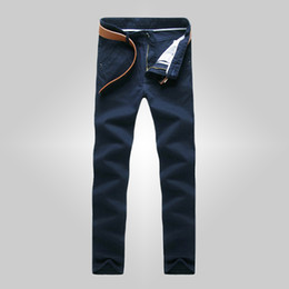 Wholesale Flying Colors Clothing - Wholesale-2016 Men Summer Linen Casual Pants Stretch Flax Cotton Casual Trousers Size 28-38 8 colors Men's Clothing 20