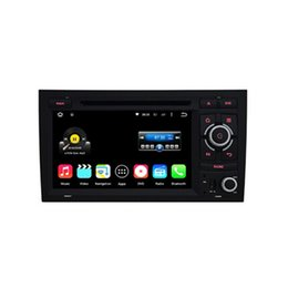Wholesale Dvd Player Audi A4 - 7'' Quad Core Android 5.1.1 Car DVD Player For Audi A4 S4 RS4 (2002-2008) With Stereo GPS Map