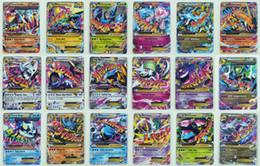 Wholesale Flash Trades - Poke TCG 18 CARD MEGA 18Pcs Poke Cards EX Charizard Venusaur Blastoise Flash card ALL MEGA 18PCS Poke Cards
