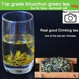 Wholesale Green Tea Good - NEW TEA spring Green Tea good quality Top grade biluochun Famous Chinese 100g Biluochun Tea for health Gift