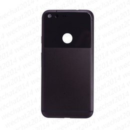 Wholesale Touch Screen Housing - 50PCS Rear Housing Cover Back Rear Panel Battery Door Case Cover Replacement for Google Pixel XL free DHL