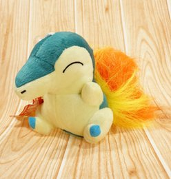Canada Poke Peluche Character Toy Cyndaquile Soft Game Stuffed Animal Doll 13cm de haute qualité Livraison gratuite EMS pokemon video games deals Offre