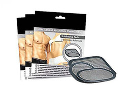 Wholesale Replacement Gel Pads - 2016 Replacement Gel Pads for All the Ab Belt Abs Abdominal System 1 Sets 3pcs Free Shipping