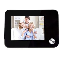 Cámara digital de visor de peephole digital online-Timbre Inalámbrico Digital Peephole Door Viewer Cámara Ojo Intercomunicador de Video Soporte TF Tarjeta Visión Nocturna Seguridad para el Hogar Envío Gratis