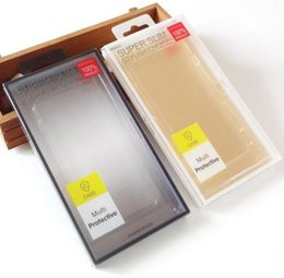 Wholesale Empty Packaging Box - Universal plastic empty PVC retail package box packing boxes for CellPhone Case iphone 8 7 6 6S plus 5S Samsung Galaxy S6 S7 edge S8 plus
