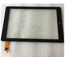 """Wholesale Tablet Touch Screen Panel Digitizer - Wholesale- 1pcs lot Black New For 10.8"""" Chuwi HI10 plus CWI527 Tablet touch screen Panel digitizer glass Sensor Replacement Free Shipping"""