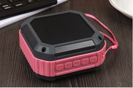 Wholesale Cheap Wholesale Mini Radio - New Cheap waterproof anti fall outdoor sports Wireless Bluetooth speakers audio support mobile phone transmission play music DHL