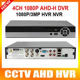 Wholesale Ip Security Cameras Dvr - 4 Channel AHD DVR AHDH 1080P 960P Security CCTV DVR 4CH Mini Hybrid HDMI DVR Support 2MP IP Analog AHD Camera
