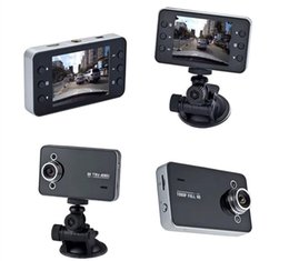 Wholesale Wholesale Video Cameras - DVR K6000 NOVATEK 1080P Full HD LED Night Recorder Dashboard Vision Veicular Camera dashcam Carcam video Registrator Car DVR