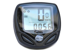 Wholesale Odometer Bike Wireless - Wireless Waterproof LCD Cycling Bike Bicycle Computer Odometer Speedometer