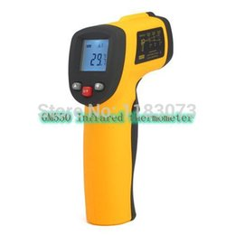 Wholesale Free Electronic Module - Non-contact IR Infrared Thermometer Temperature Measurement Module Electronic Laser Thermometer 550 Degrees Precise Gun GM550 Free Shipping