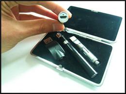 Wholesale Passthrough Dual Coil - open vape e cigarette bottom charger battery usb passthrough 380mah variable voltage e cigarette kit with dual coil glass cartridge