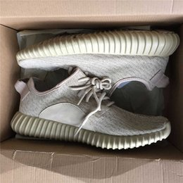 Wholesale Cheap Wholesale Women Shoes - Professional Oxford Tan 350 Boots AQ2661 Running Shoes Fashion Women and Men 350 Boost cheap Outdoor Sports Running Breathable