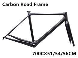 Wholesale Carbon Fiber Bike Frame 56cm - 2018 R5 carbon fiber road bicycle frame T1000 UD carbon bike frame bike combo frame 51 54 56CM