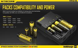 2019 balance numérique chargeur rc Nitecore i4 Intellicharger Chargeur de batterie universel I4 Puissance de charge intelligente pour Li-ion 18650