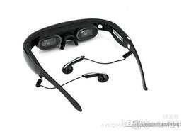 Canada Lunettes vidéo virtuelles à écran virtuel de 72 pouces Lunettes de cinéma 3D à mémoire flash intégrée de 4 Go de lunettes intelligentes Nouveaux produits électroniques Offre