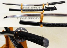 Wholesale High Carbon Steel Katana - HIGH QUALITY 1095 CARBON STEEL CLAY TEMPERED JAPANESE SAMURAI MARU KATANA SWORD