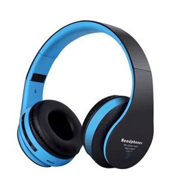 Wholesale High Definition Headset - High Definition Bluetooth Headphone STN-12 Noise Cancelling Wireless Deep Bass Stereo Bluetooth Headset Sport With MIC Support TF Card