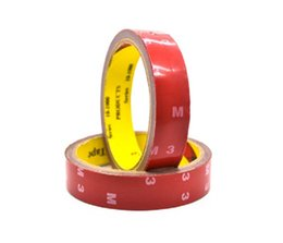 Wholesale Foam Adhesive Glue - 2m Length 0.8mm Strong 3M Acrylic Foam Adhesive Tape Double Side Attachment Tape for Car Fix Multi-functional Home Repair