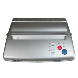 Wholesale Thermal Stencil Machines - Solong Tattoo Top Quality Tattoo Stencil Transfer Machine Thermal Copier Maker For Transfer Papers 20 Pcs Transfer Paper